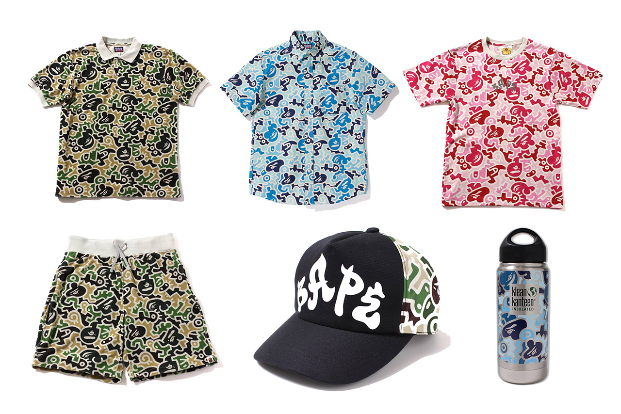 a bathing ape 2013 spring summer hieroglyph camo collection