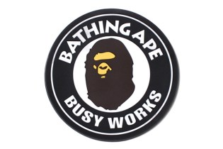 A Bathing Ape BUSY WORKS RUBBER COASTER