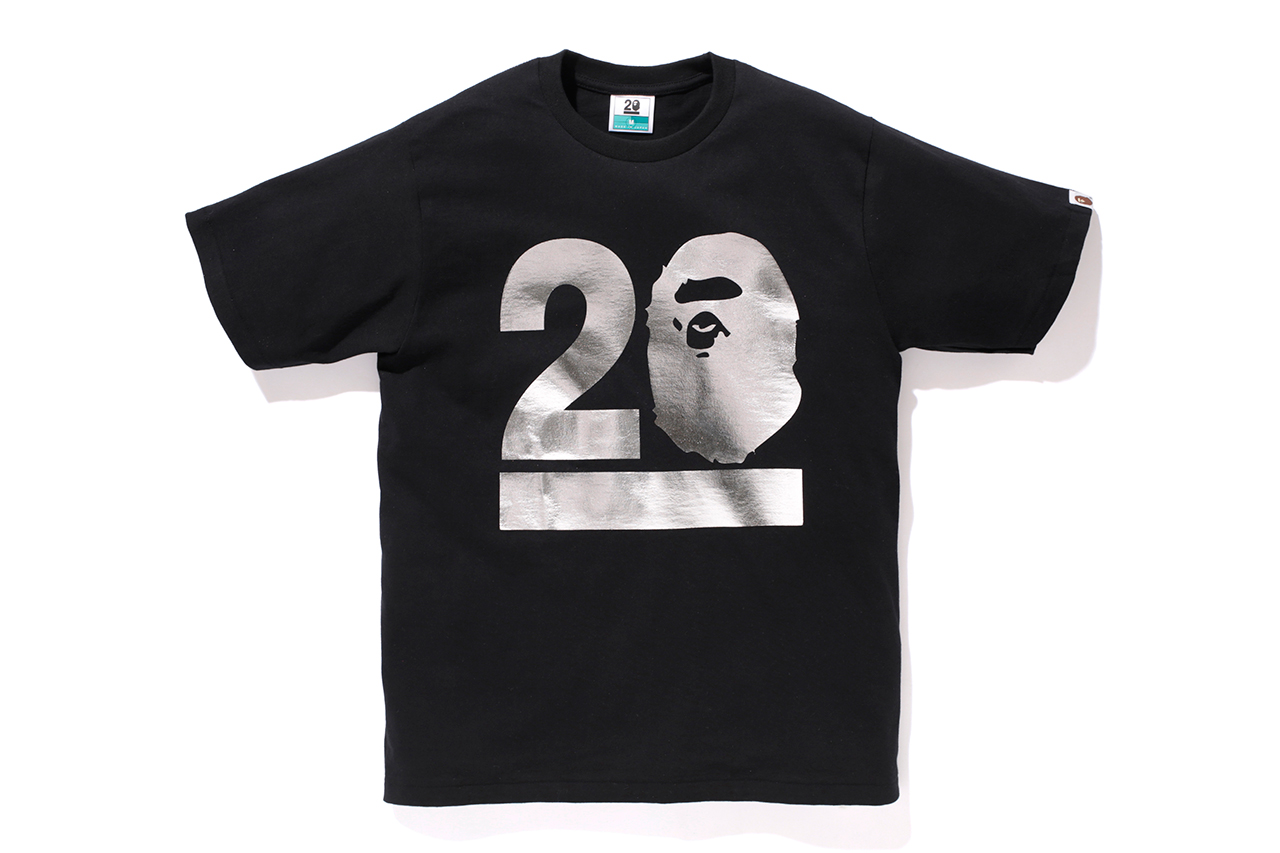 a bathing ape nw20 bape gallery kyoto limited t shirt