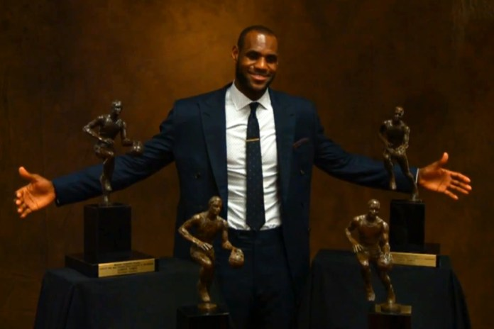 A Retrospective of LeBron's Career Through Four MVP Awards and an NBA Title
