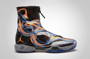 Air Jordan XX8 Black/Bright Citrus-Cool Grey-Deep Royal
