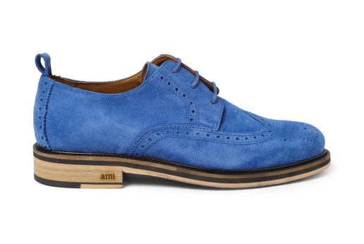 AMI for MR PORTER 2013 Suede Wingtip Brogue