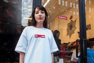 "Supreme's Box Logo Gets Flipped for Free ""Su me"" T-Shirt"