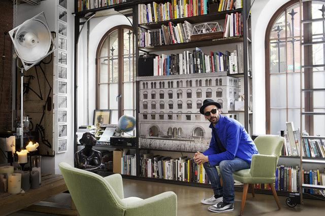 Artsy Takes Us Inside JR's New York Studio
