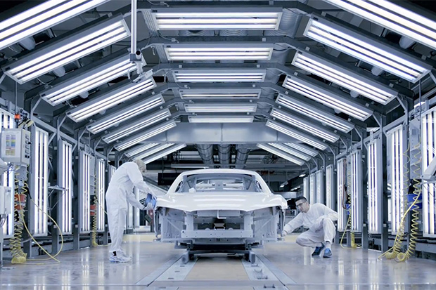 Watch the Audi R8 Meticulously Constructed