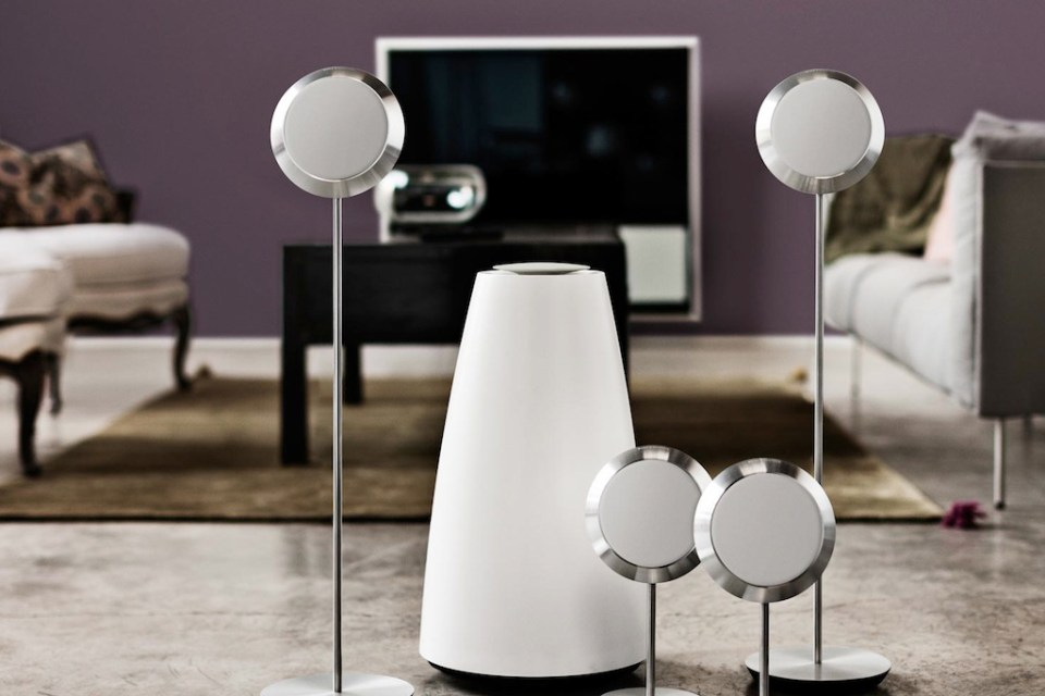 bang olufsen beolab 14 surround speakers hypebeast. Black Bedroom Furniture Sets. Home Design Ideas