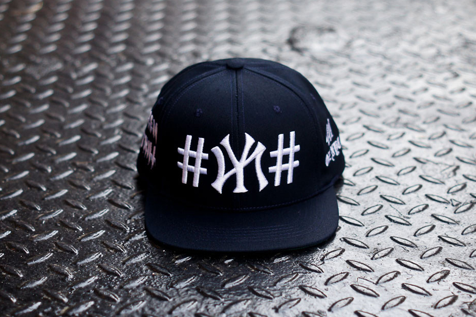 been trill x 40 oz nyc navy ny snapback kith exclusive