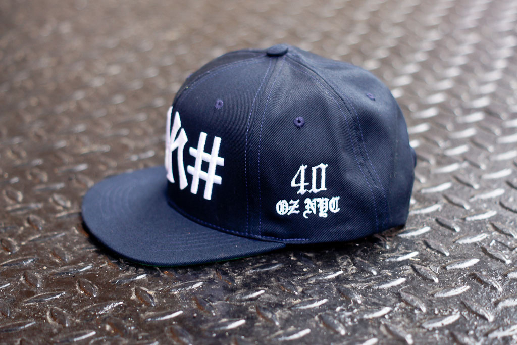 "Been Trill x 40 oz NYC Navy ""#NY#"" Snapback Kith Exclusive"