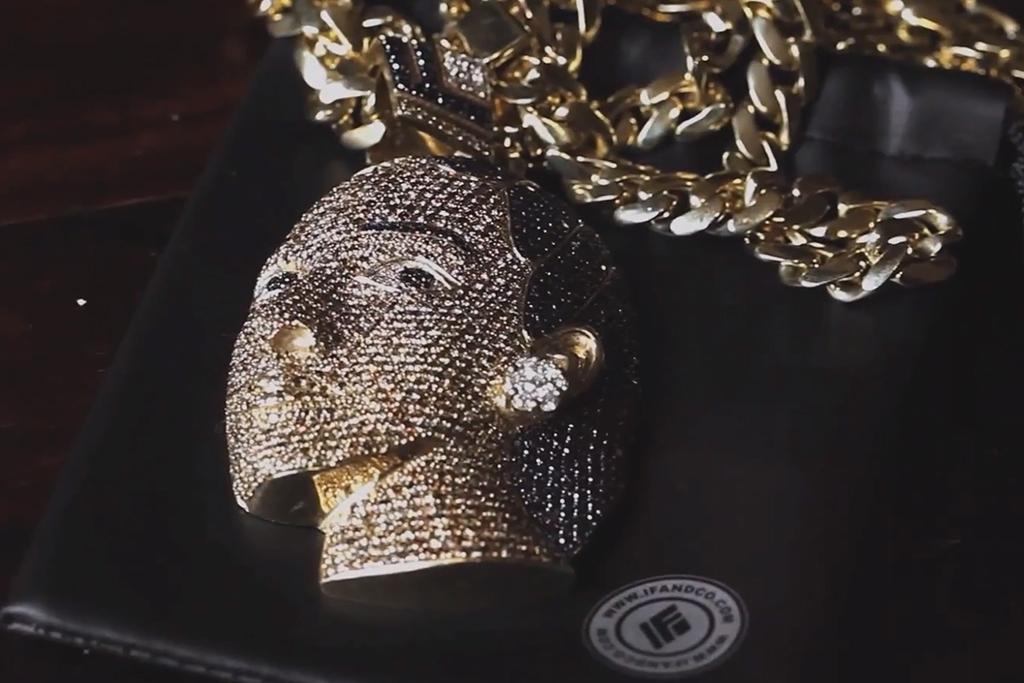Ben Baller Makes Trinidad Jame$ a $35k Egyptian Chain