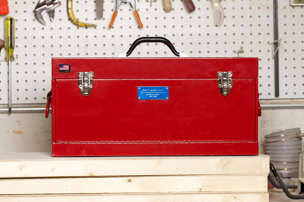 best made co front loading toolbox
