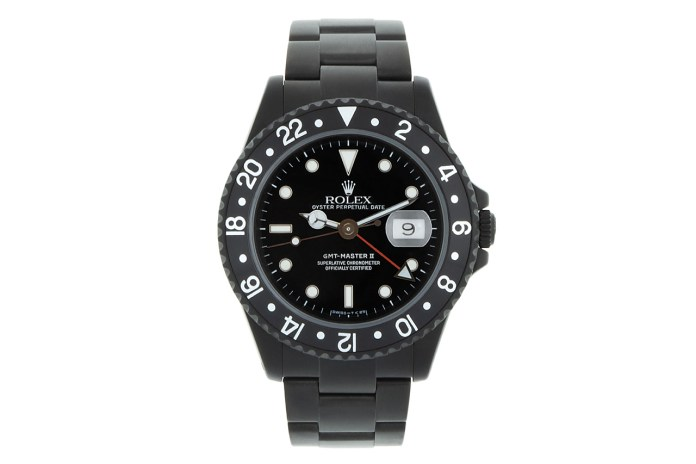 Black Limited Edition by Alejandro Alcocer Rolex GMT Master II