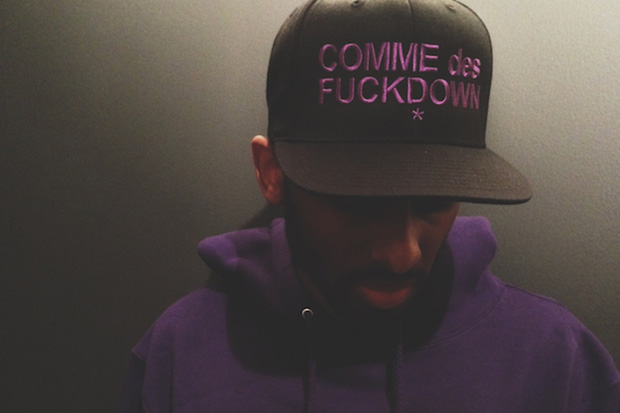 """Black Scale x The Cuts COMME des FUCKDOWN """"Everything Is Purple"""" Capsule"""