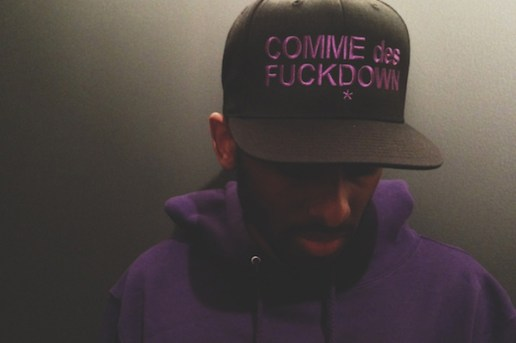 "Black Scale x The Cuts COMME des FUCKDOWN ""Everything Is Purple"" Capsule"