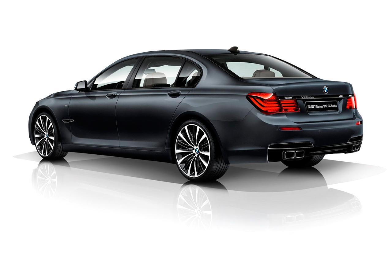 BMW 7 Series V12 Bi-Turbo Japan-Only Limited Edition