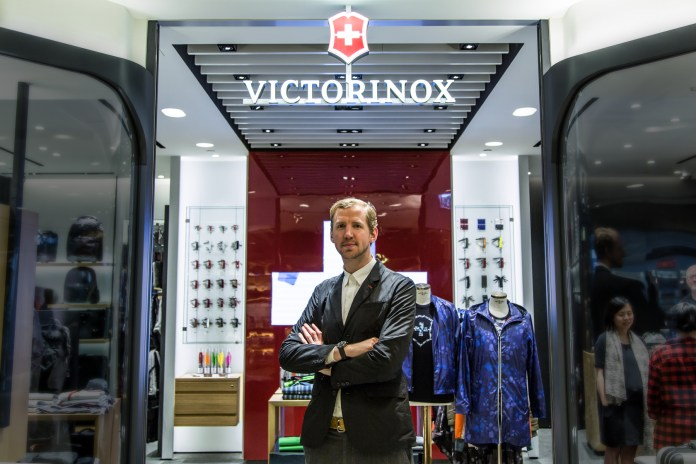 Christopher Raeburn Discusses Functionality and Sustainablity in Fashion and His Role at Victorinox