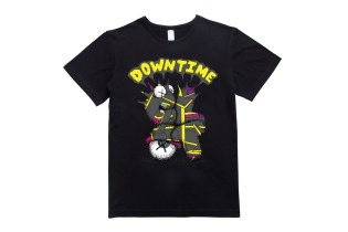 "KAWS x CLOT ""DOWN TIME"" T-Shirt"