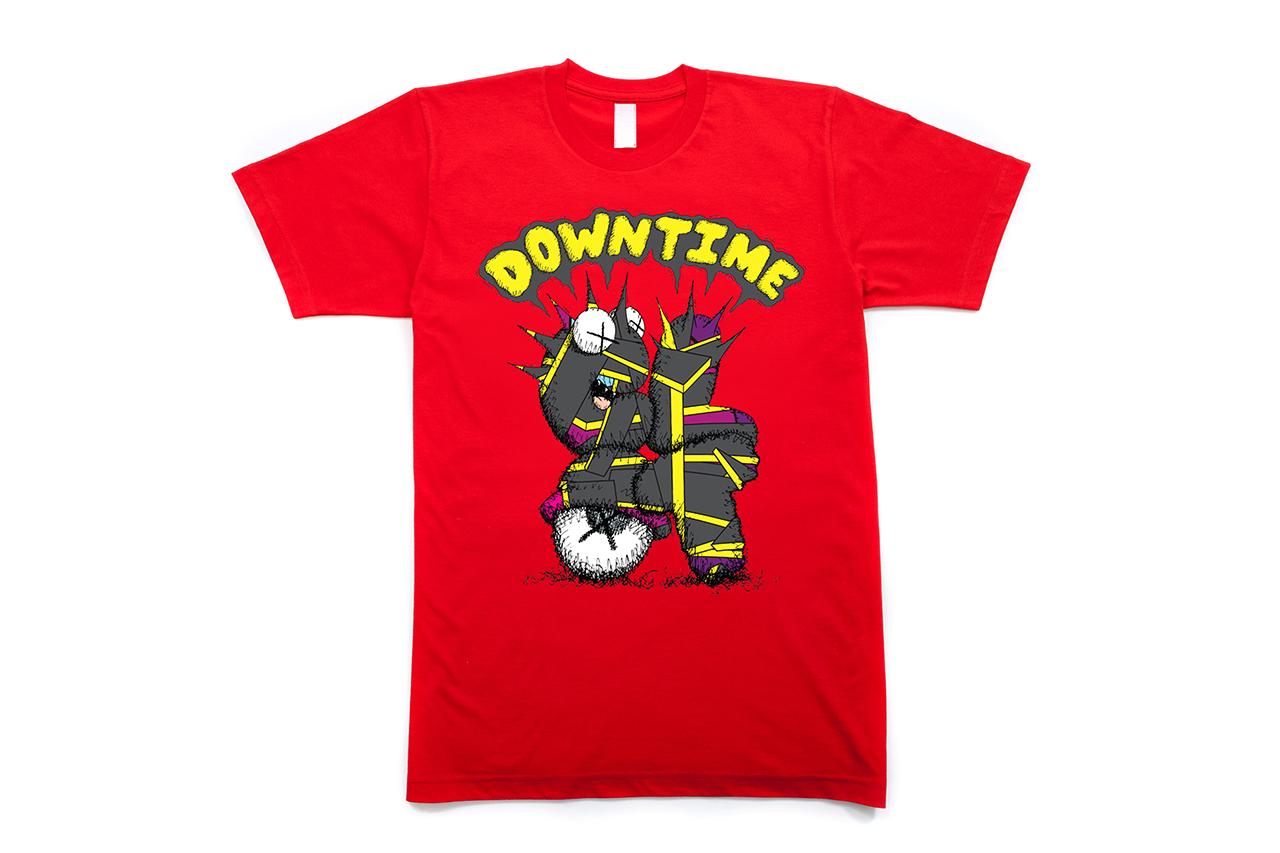 "KAWS x CLOT ""DOWN TIME"" T-Shirt"