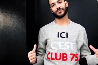"""Club 75 for BWGH """"Ici c'est Club 75"""" Sweater"""