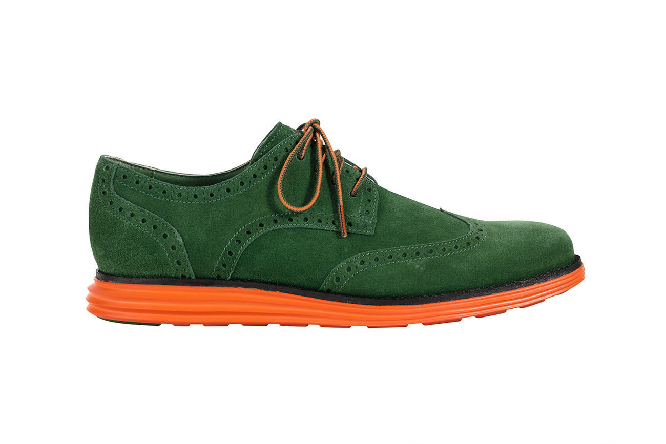 cole haan 2013 spring summer lunargrand wingtip special edition