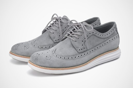 Cole Haan LunarGrand Kudu Suede Collection