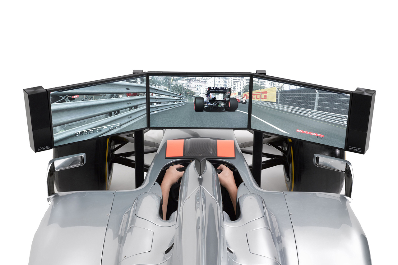 costco uk offering this 115000 full size f1 simulator