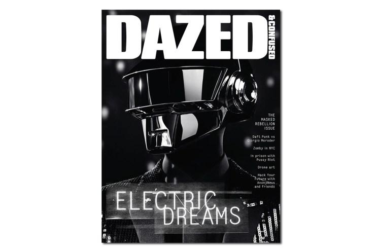 Daft Punk Cover for Dazed & Confused's June 2013 Issue Shot by Hedi Slimane