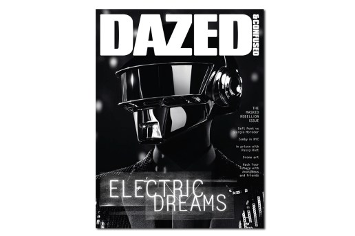 Daft Punk Cover for Dazed & Confused's June 2013 Issue Shot by Hedi Slimane