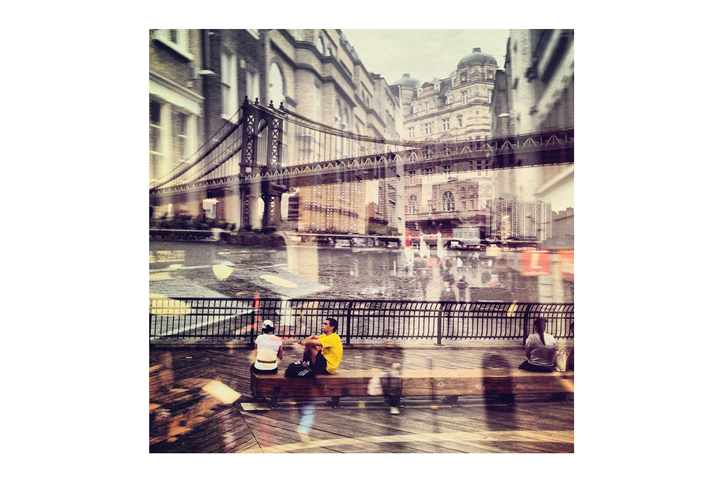 New York Meets London in Daniella Zalcman's Double-Exposure Photo Series