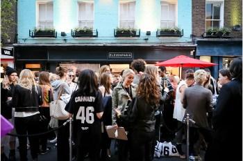 Eleven Paris Carnaby Store Opening Recap