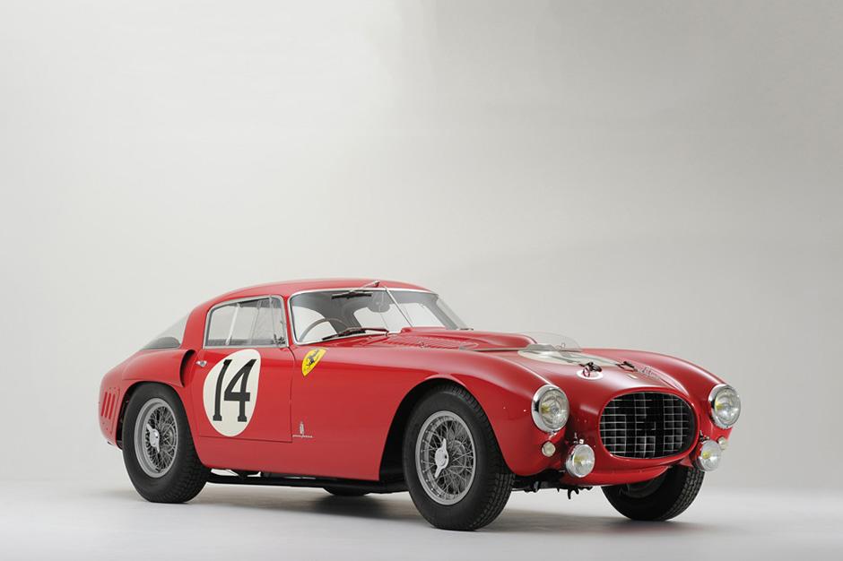 """Ferrari 340/375 MM Berlinetta """"Competizione"""" Goes for $12.8 Million USD"""