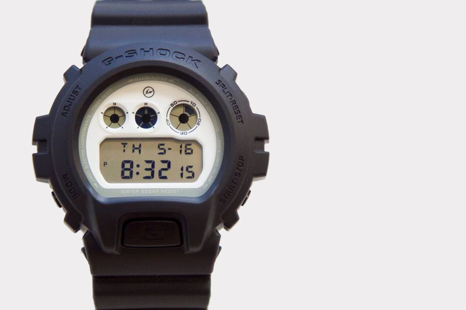 fragment design x casio g shock 30th anniversary dw 6900 preview