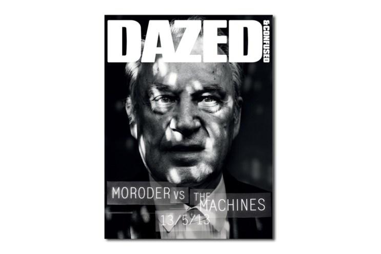 Giorgio Moroder Teaser Cover for Dazed & Confused's June 2013 Issue