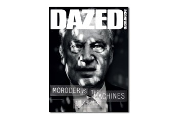 Giorgio Moroder Teaser Cover for Dazed & Confused's June 2013 Issue