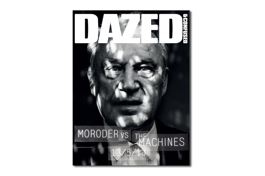 giorgio morodor for teaser cover to dazed confused june issue