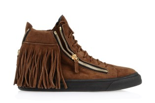 Giuseppe Zanotti Maxi Fringe Sneakers