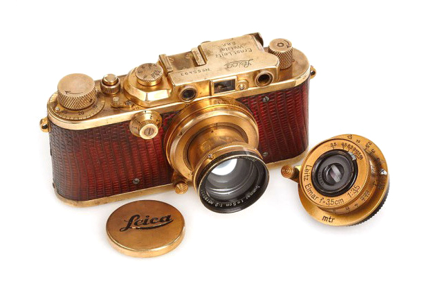 this gold plated leica from 1931 sold for 683000