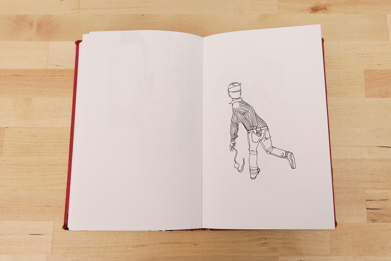 pen paper gorey