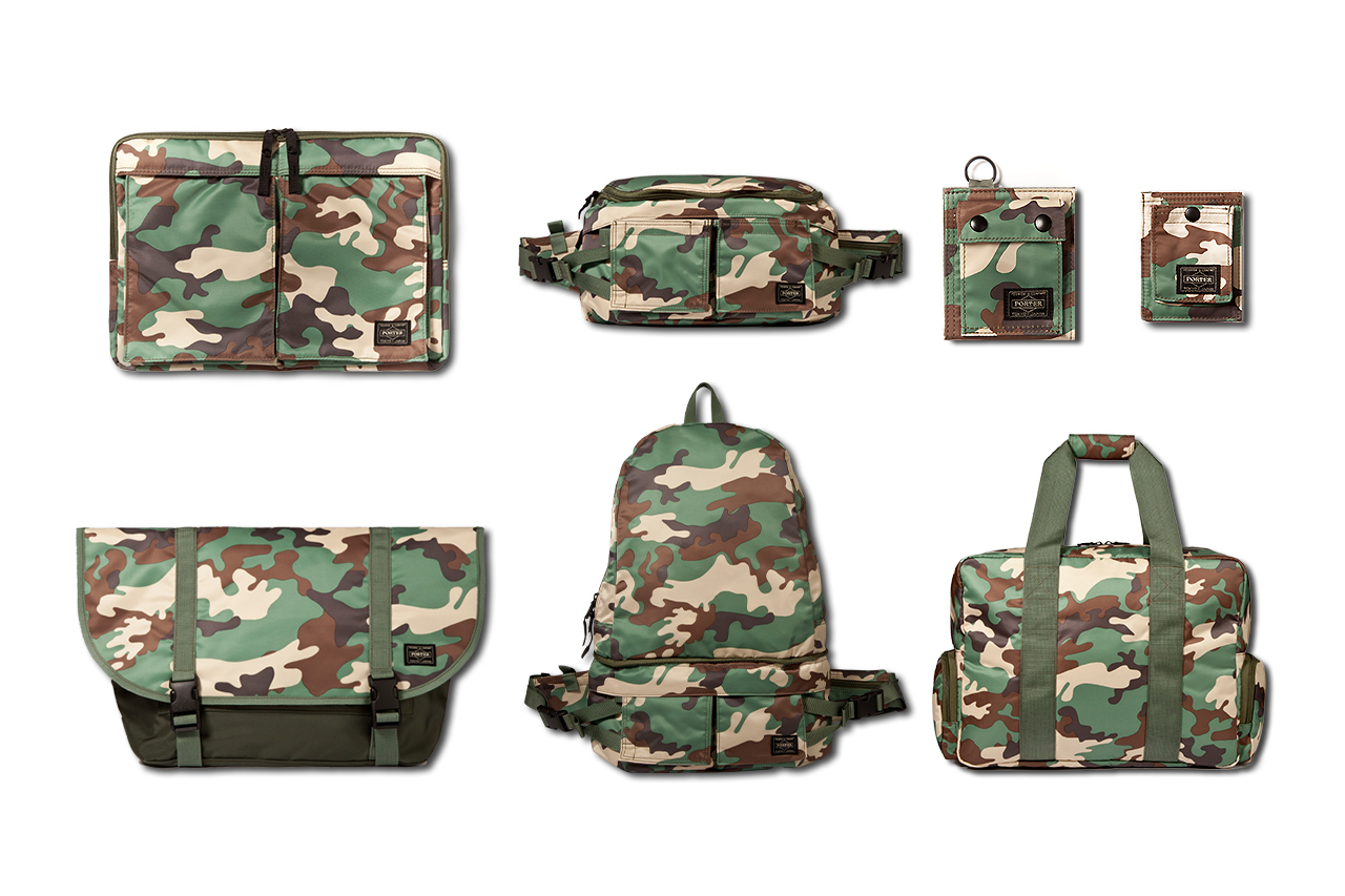 head porter 2013 spring summer camouflage collection