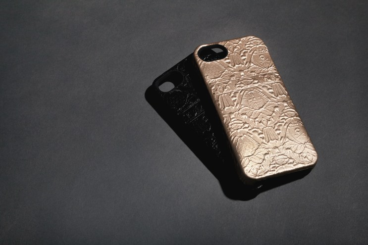 Fool's Gold x HEX Leather Solo Wallet iPhone Case