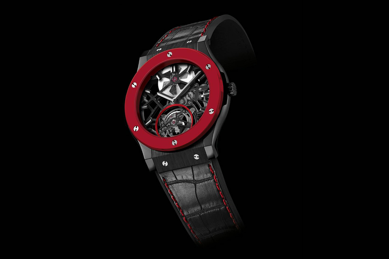 Hublot Red Ceramic Classic Fusion for Only Watch