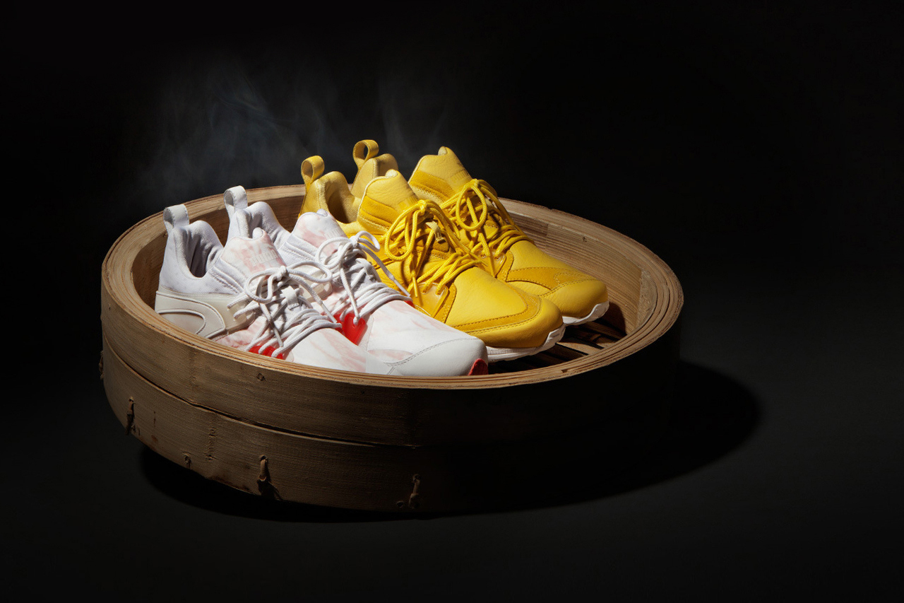 hypebeast x puma the dim sum project blaze of glory og ltwt full look