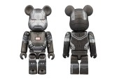"Iron Man 3 x Medicom Toy ""War Machine"" 100% & 400% Bearbricks"