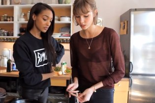 Jourdan Dunn and Karlie Kloss Cook Up a Curry