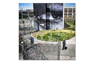 JR Puts Art On Rikers Island Prison