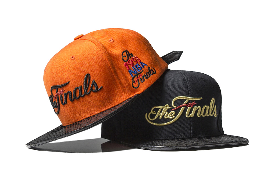 "Just Don 2013 ""The Finals"" Snakeskin Strapback Hats"