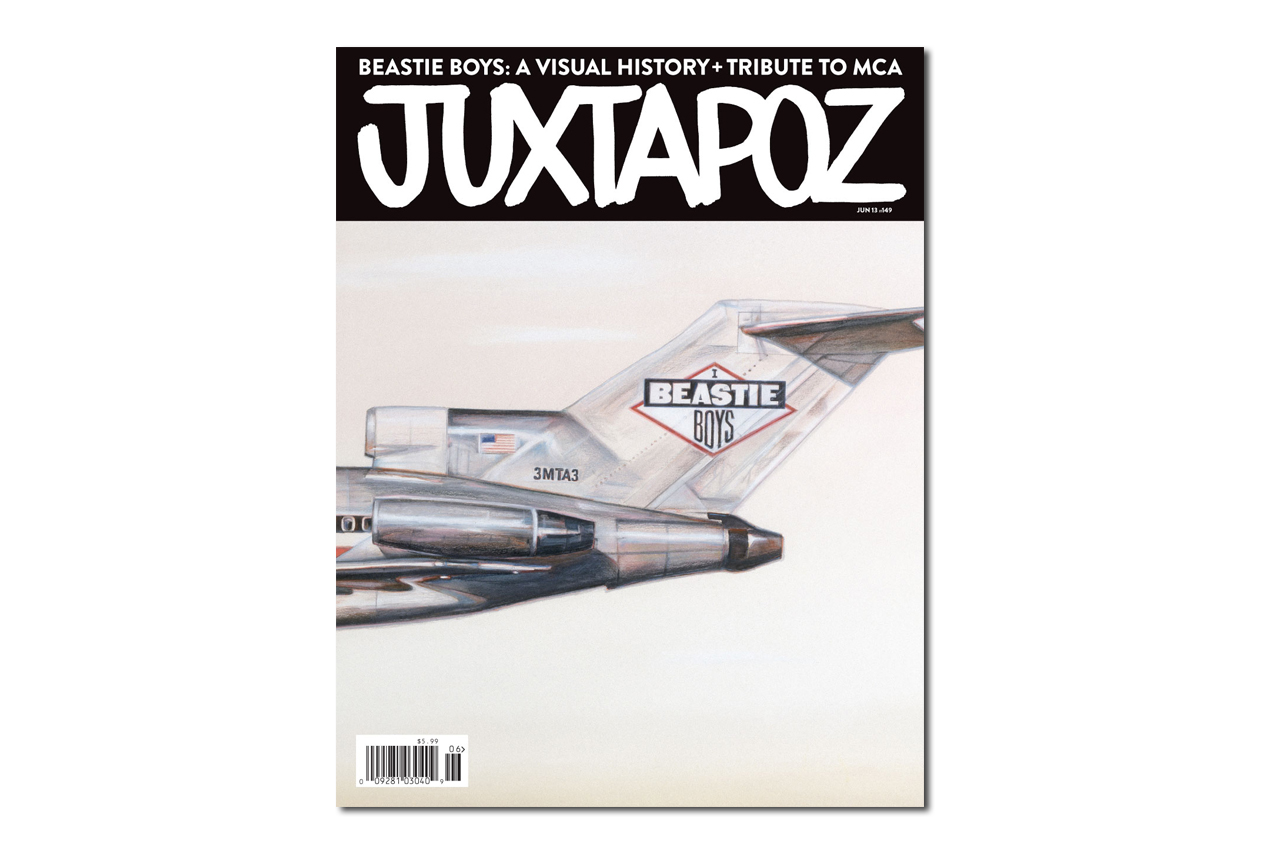 juxtapoz magazine beastie boys visual history tribute to mca issue preview