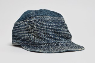 Kapital Kogin Blue Washed Country Cap