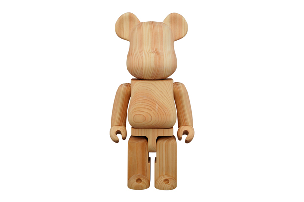 karimoku x medicom toy hinoki cypress 400 bearbrick