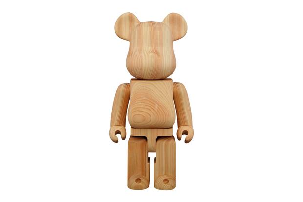 Karimoku x Medicom Toy Hinoki Cypress 400% Bearbrick