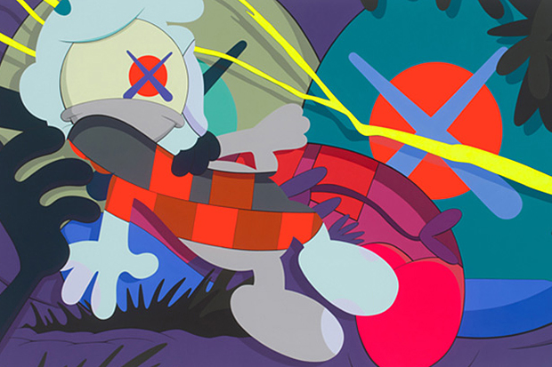 kaws ohhh exhibition kaikai kiki gallery new work preview